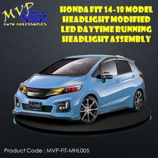 Honda FIT/JAZZ 2014 to 2017 Sequential Signal Aftermarket headlight - ( Pre-Order )