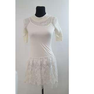 Bangkok Dress Offwhite
