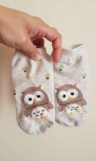 Korean Socks (Owl)