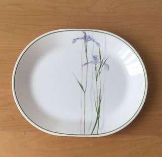 Corelle Shadow Iris Serving Plate