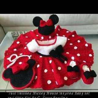Personalized Crochet Outfit