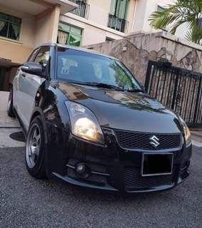Suzuki Swift Sport 1.6M for Rent
