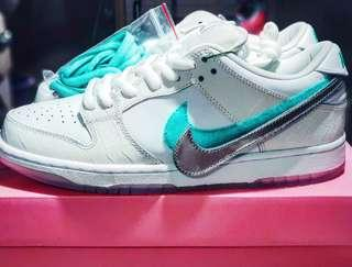 Nike SB Dunk low Diamond Supply Co White