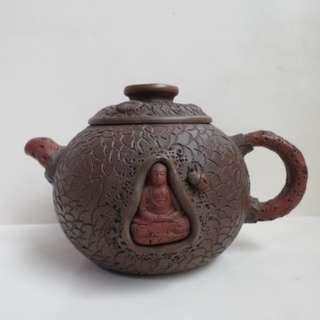 🚚 單孔   李昌鴻樹樁老紫泥茶壺
