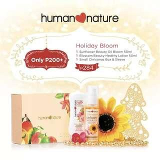 Human Nature Holiday Bloom Gift Set