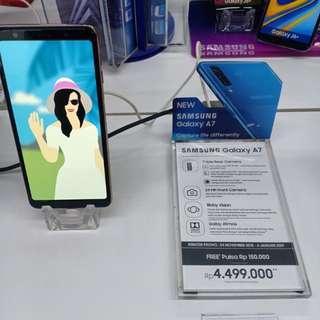 Promo Kredit Samsung Galaxy A7. Bunga bisa 0%