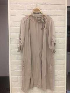 🚚 荷蘭設計品牌Sandwich 質感長版罩衫,長度:90cm,9成新