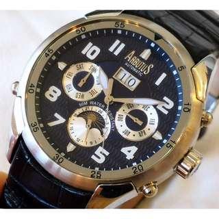 ARBUTUS BIG DATE Automatic watch (ARBUTUS 大日曆自動機械手錶)