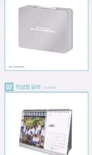[LOOSE ITEM 2ND SLOT] Wanna One Season's Greeting