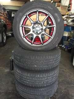 Used Rim 15 inch with tires