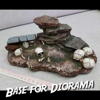 1/6 Base for Diorama (loose from pl2018-115 Hercules)[phicen / TBLeague / hottoys / Kitbash / Not Female Body Head Sculpt Stand]