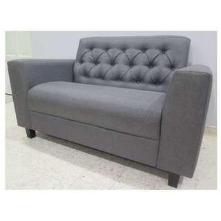 2 seater Chesterfield Classic Sofa New
