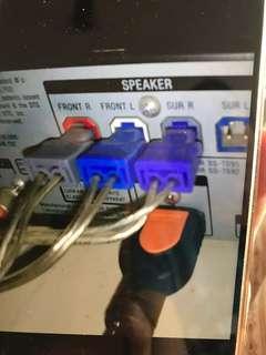 徵Sony5.1音響喇叭線