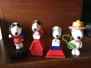 McDonalds Snoopy Toy Collection