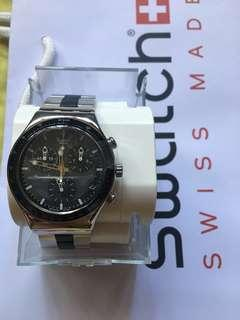 Swatch windfall chronograph stainless