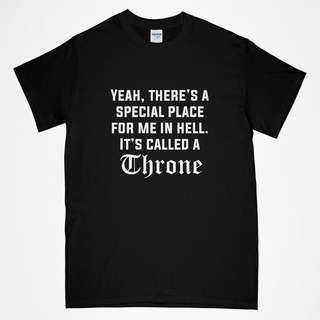 Throne in hell funny Tee shirt