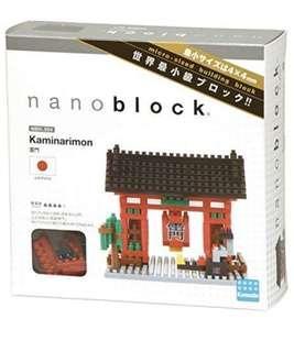Nanoblock NBH_054 Kaminarimon 雷門
