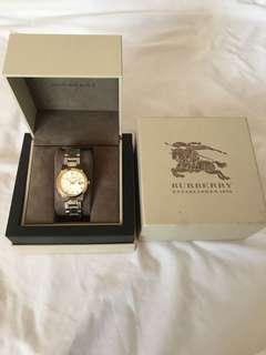 Burberry Two Tone Stainless Steel Ladies Watch