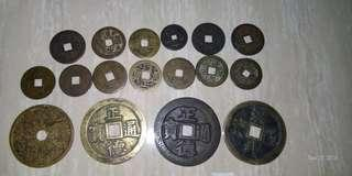 Ancient China coins