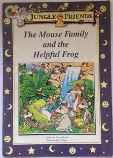 Jungle Friends: The Mouse Family and the Helpful Frog