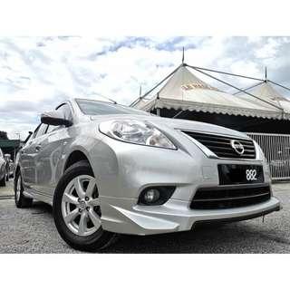 2014 Nissan ALMERA 1.5 VL (A) NISMO IMPUL FULLOAN