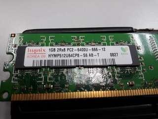 Ram DDR2 PC2-6400 1GB