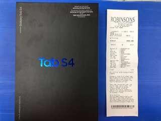 Samsung tab s4 new
