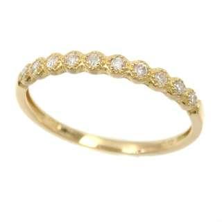 Genuine Diamond Ring - 18k