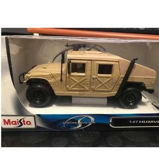 Maisto 1:27 Humvee Special Edition