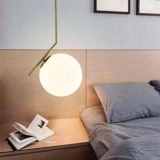 Elegant Gold Pendant Light, Hanging Light Available