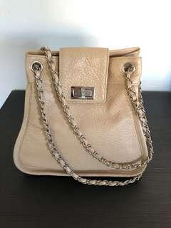 Vintage Chanel madamoiselle lock chain bag