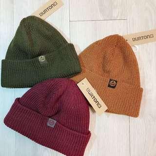 🇺🇸美國直送 伯靈頓Burton 三色粗針織毛帽