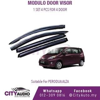 Perodua Alza Injection Modulo Door Visor