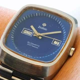 Swiss Made ZODIAC SST36000 Hi-Beat Automatic watch (瑞士裝ZODIAC SST36000高頻自動機械錶)