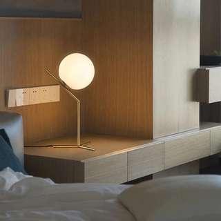 Nordic Glass Ball Table Desk Lamp