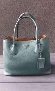 Prada Cuir Double Bag
