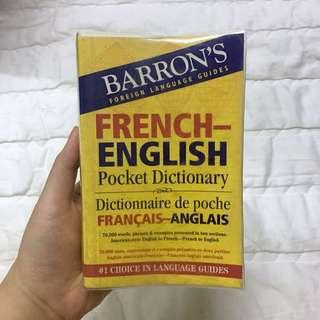 French-English Pocket Dictionary