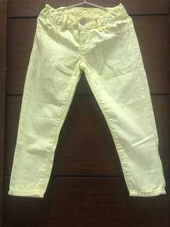 Gap yellow neon green pants