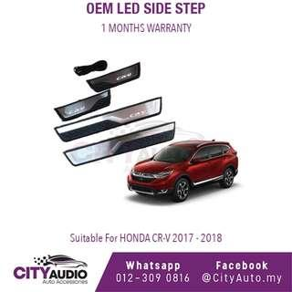 Honda CRV 2017 - 2018 OEM LED Side Step