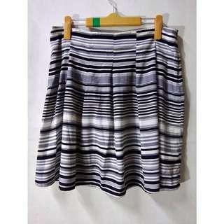 Spring Fling Striped Skirt