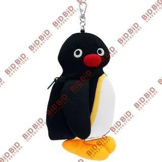 Pingu 毛公仔 證件套 証件套 八達通套 工件証套 IC卡套 IC 卡套 咭套 掛飾 吊飾 散銀包 散子包 伸縮繩掛鉤 企鵝家族 ( 全身款 )