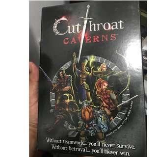 Cut Throat Caverns Card Game