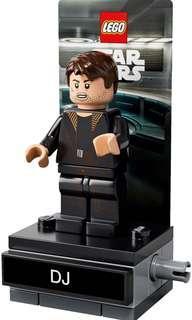 LEGO Star Wars DJ minifigure