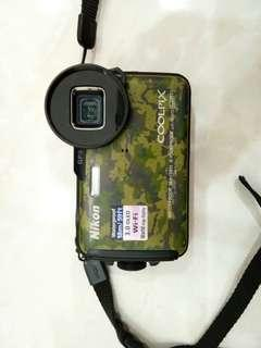 Nikon aw110 waterproof camera