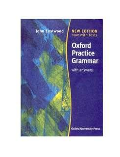 [Ebook] Oxford Practice Grammars with Answers by John EastWood [PDF]