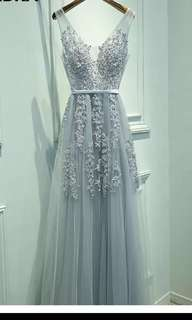 7ab25a151 Brand New. Smoked Puffy Babydoll Dress (Taupe)