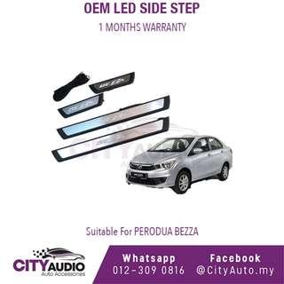 Perodua Bezza OEM LED Side Step