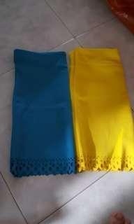 New Scallop skirts