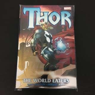 Thor: The World Eaters HC Marvel Comics Book Stan Lee Movie Avengers