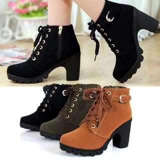 [PO] Heeled Ankle Boots